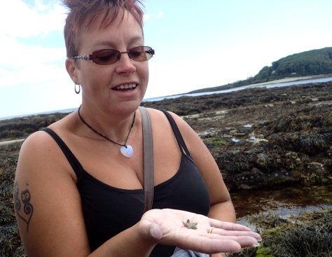 Happiness is rock pooling - and we're already looking forward to doing it all again next year.