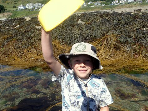 Cornish Rock Pools junior is ready for action
