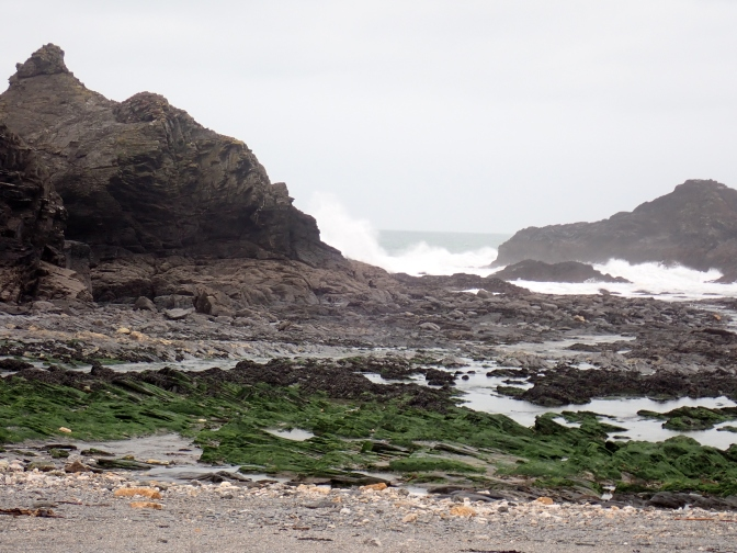 Breakers at Porth Mear